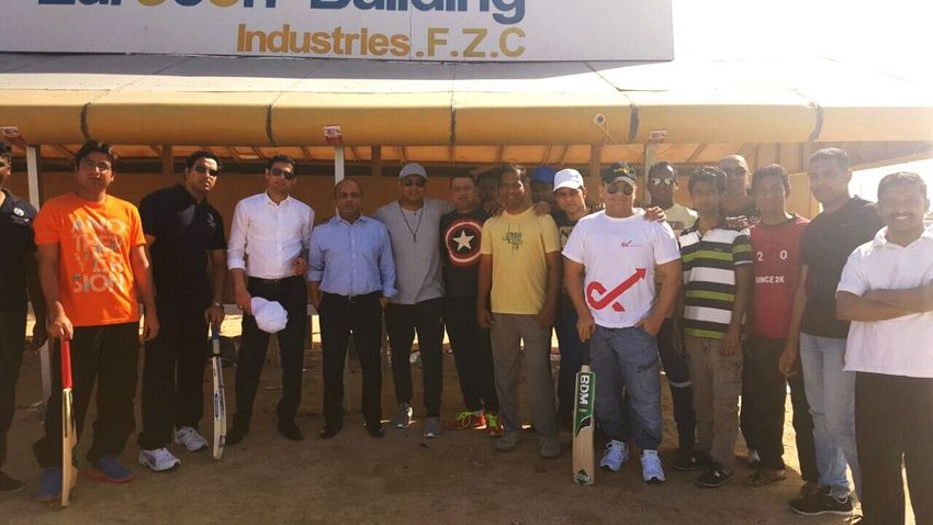Faadu team of Sheraton Sharjah.....
