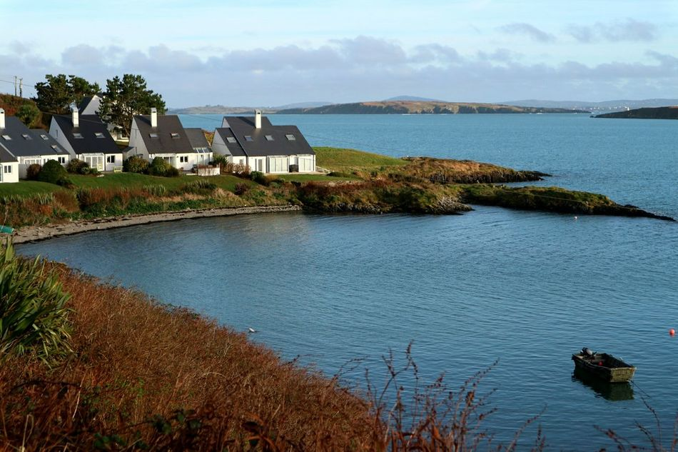 Empty off season holiday houses Holiday Homes Holiday House Water Sea Atlantic Ocean Architecture Built Structure Nature No People Outdoors Scenics Beach Sky Beauty In Nature Day Wintertime Mizen Peninsula Wildatlanticway Ireland