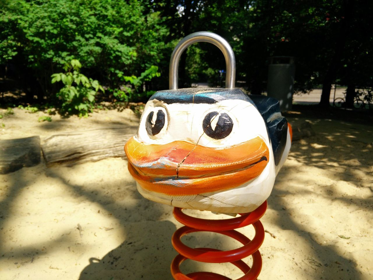 Federtier Federwippe Penguin Pinguin Playground Playground Equipment Spielplatz Wipptier