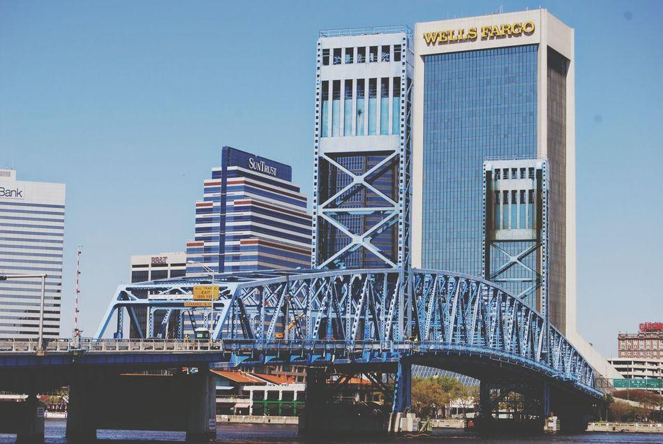 Jacksonville Fl Downtown City Building