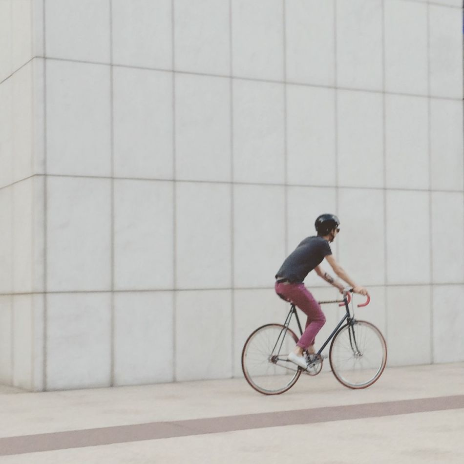 Bike Streetphotography Summer Madrid