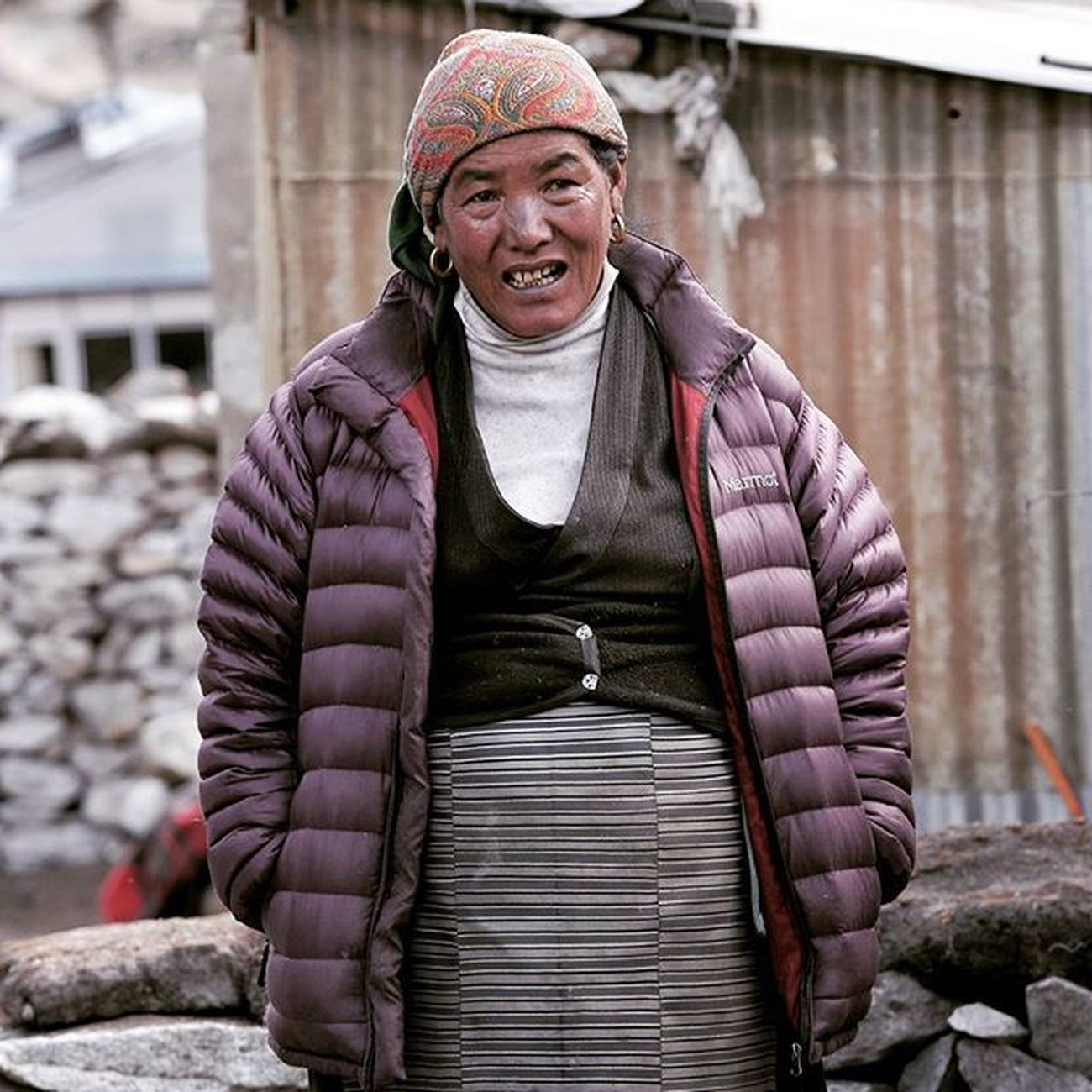 Lakpha's Grandma. Dingboche 4410m Goodday my friends, what yall gonna eat for lunch? Remember DalBhat power, 24 hour. Nepal Himalaya Potrait Ig_portraits Dingboche Ig_mood Igshotz_mag Soft_vision Igshotz_folk ExploringGlobe Alldayexploring Adventurevisuals Travel2next 30xthirty Zerogrid Myfeatureshoot Worlderlust Humaninterest_id