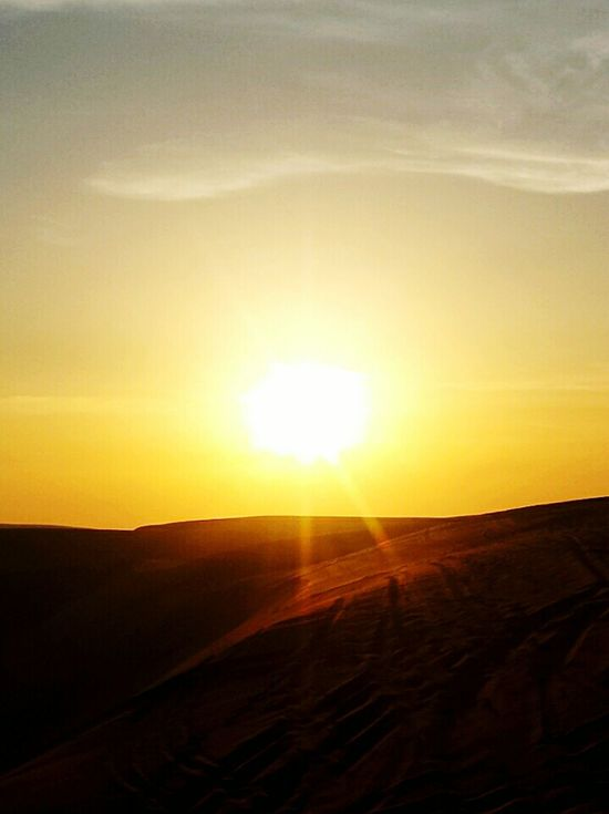 Sanddune sunset in Qatar Qatar Sanddunes Sunset
