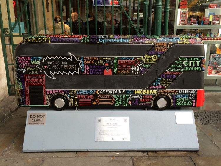 London Lifestyle Bus City Write With Colors Art, Drawing, Creativity Street Photography