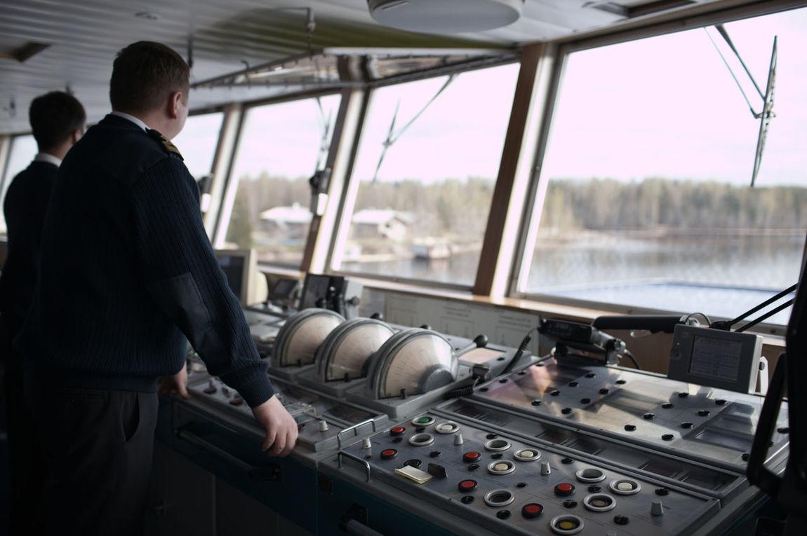 Action Boat Captain Drive Indoors  Navigation Navigation Officer Person Rudder Russia Sailboat Steering Travel Vessel Volga Wheel Yacht