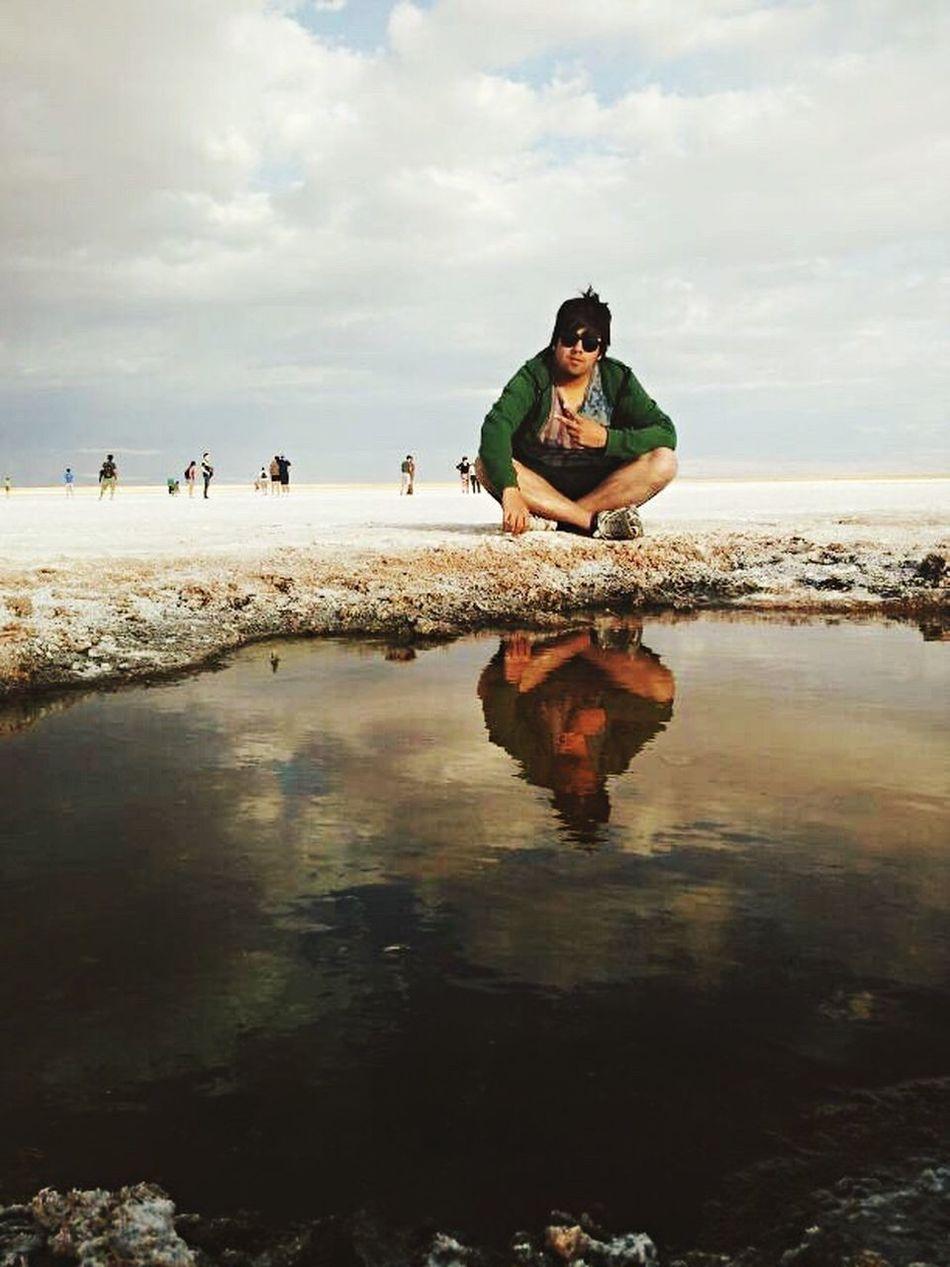 Antofagasta Sanpedro San Pedro De Atacama Vacaciones Laguna Ojos Del Salar Enjoying Life Enjoying The Sun Enjoying Nature Nature Photography Naturaleza Naturaleza🌾🌿 Desierto De Atacama Desierto Felicidad Lugares Magicos Lugares Inolvidables Tourism Fun Relaxation Tranquil Scene Reflection Life Word Beautiful Day