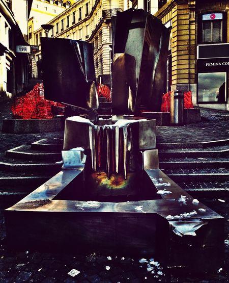 Steel Backstreets & Alleyways