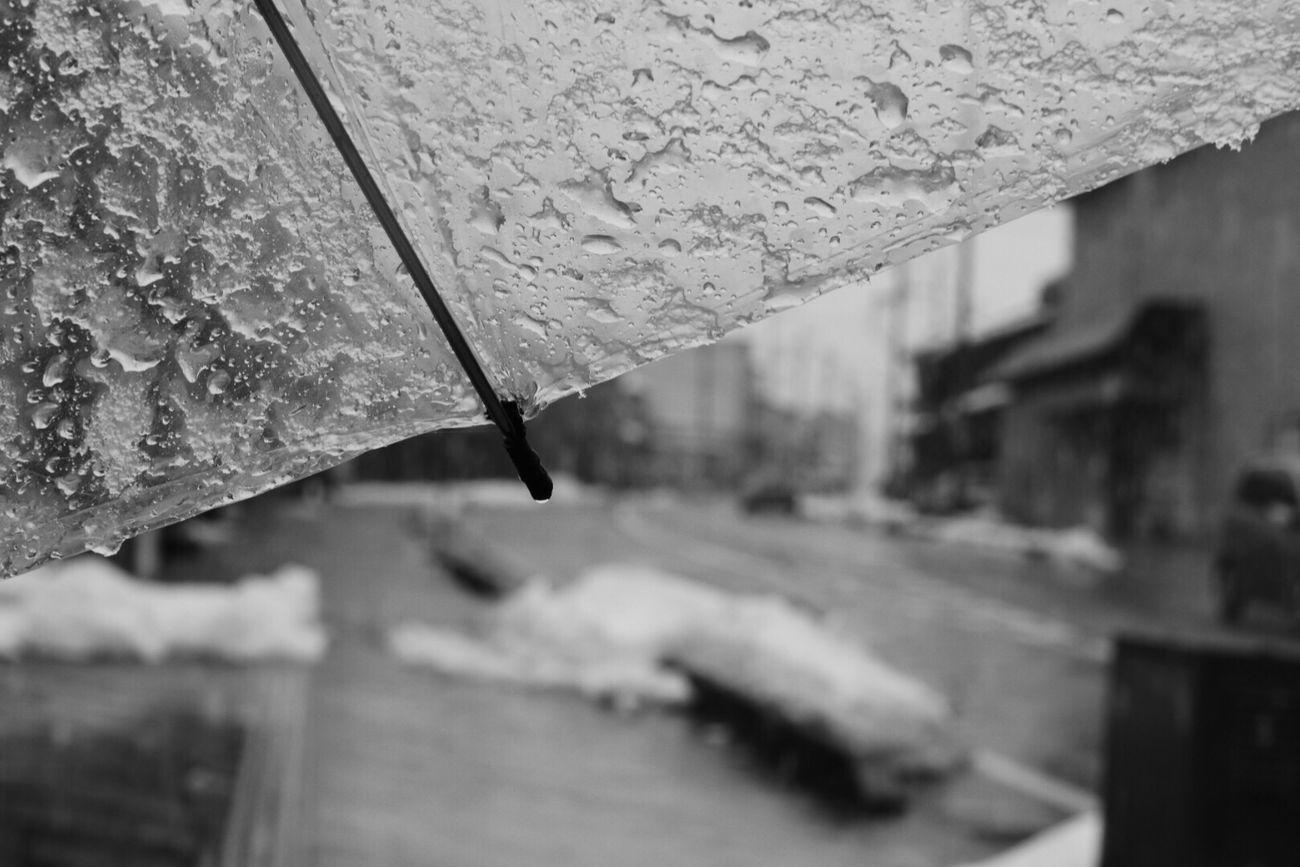 傘重い… Snow Drop Close-up RainDrop Wet Walking Around From My Point Of View Nostalgia Nostalgic Landscape Blackandwhite Monochrome Adapted To The City Japan Photography Cityscape Snow ❄ Snow Day Streetphoto_bw Street Photography Streetphotography Old Town Melancholic Landscapes Umbrella