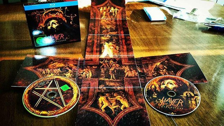 Nice package 👍 Slayer Repentless Metal