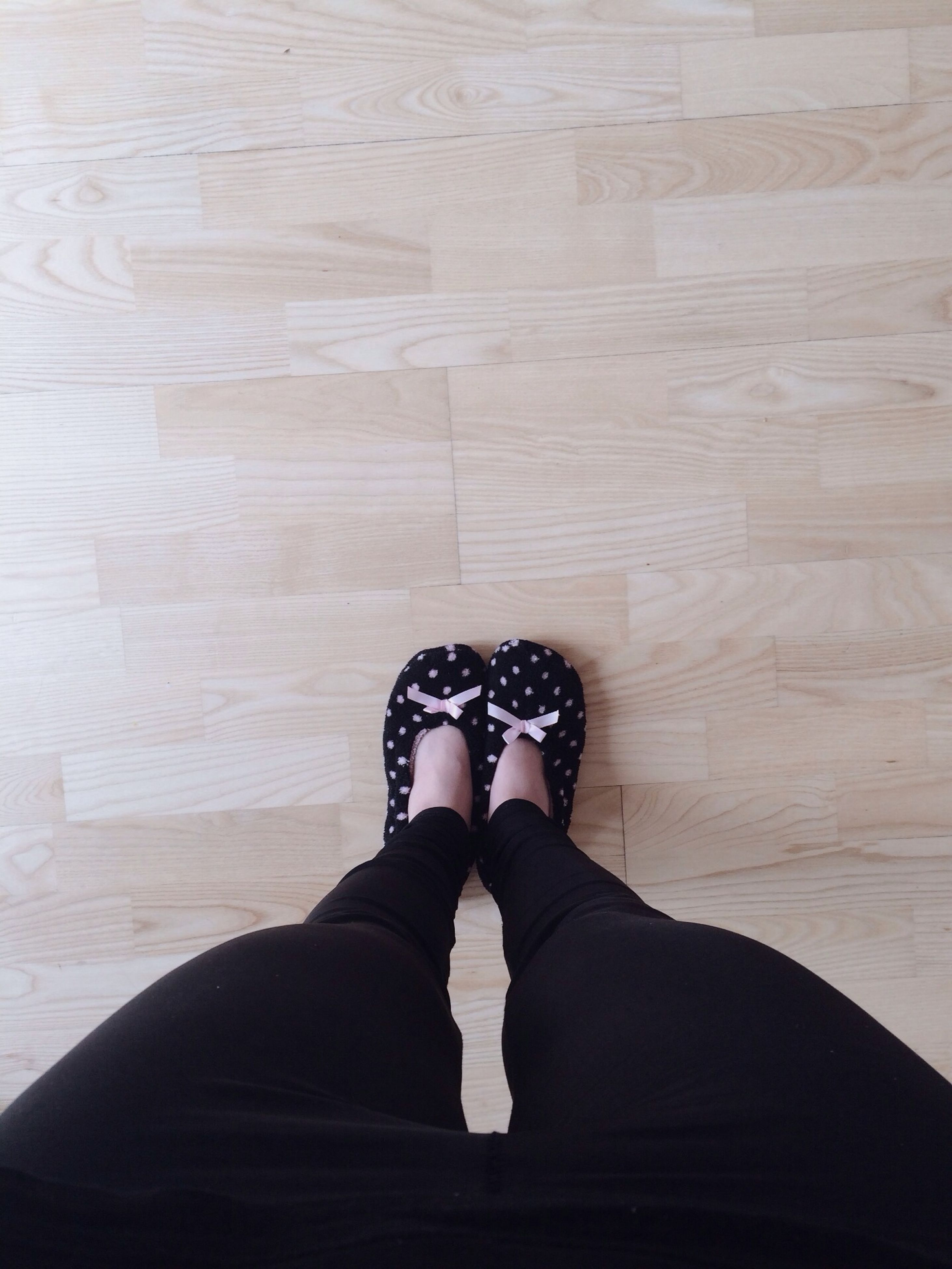 low section, person, personal perspective, shoe, human foot, standing, lifestyles, footwear, high angle view, indoors, jeans, leisure activity, men, flooring, relaxation, directly above