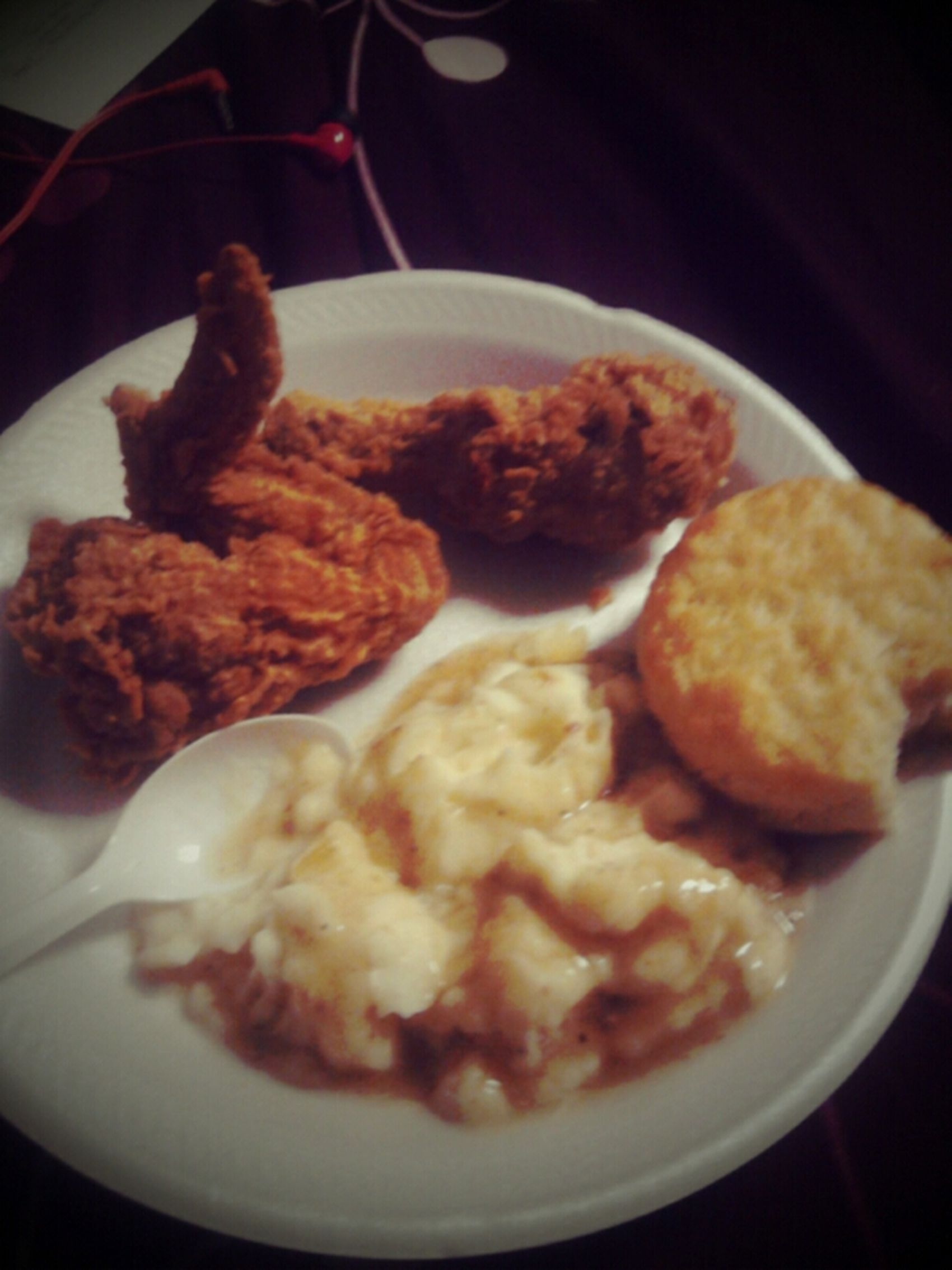S/o to Steve for the Popeye's!