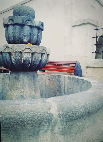Old fountain Water Fountain Fountain Islamic Design Ancient Turkish Style  Old Gaziantep Turkey