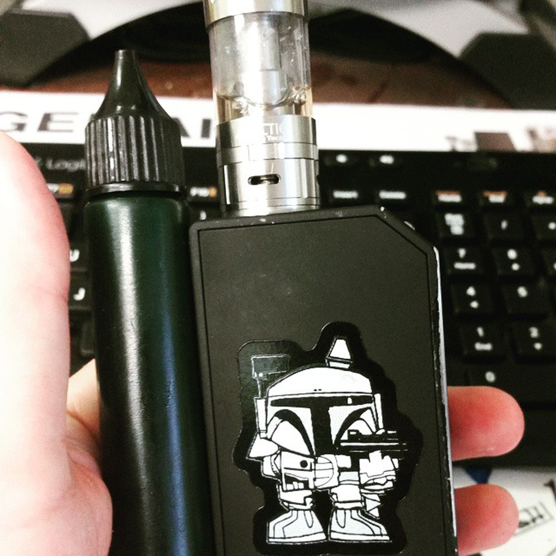 Morning handcheck at the office Le80 ArcticTank