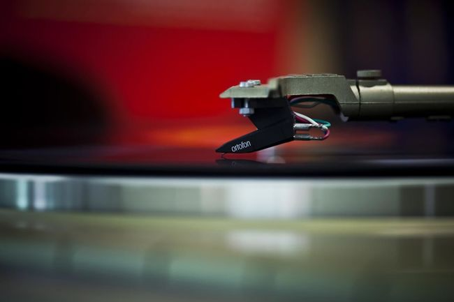 Turn Table Cartridge LP Long Playing Record Objects Object Photography Red