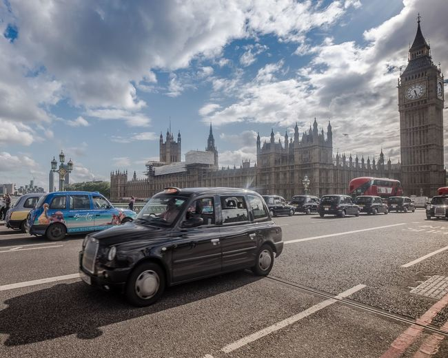Palace Of Westminster Transportation Sky Car Architecture City Mode Of Transport Street Building Exterior Visitlondonofficial We Are Photography, We Are EyeEm Timeoutlondon Southbank London Westminster Elizabethtower Westminster Bridge London Cloud - Sky Road Travel Destinations Outdoors Day No People Cultures Horizontal