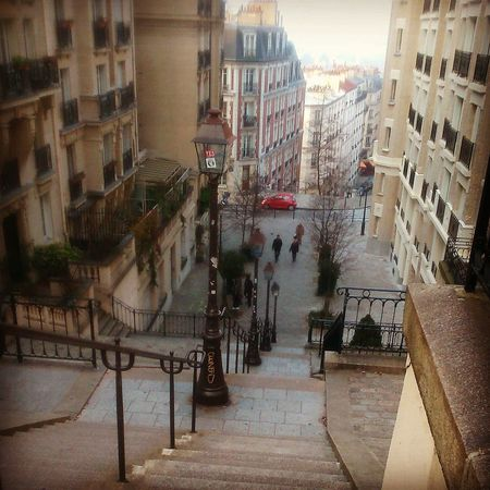 Stairs at Montmartre - Paris - Sunday Morning #Chillin #France #montmartre #Morning #Paris #Sunday #wandering Architecture Building Exterior Built Structure City No People