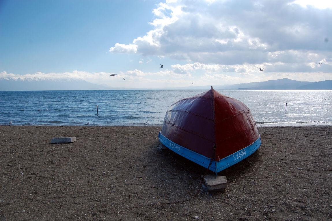 lake ohrid,macedonia Balkans Boats⛵️ Day Lake Ohrid Macedonia Ohrid Ohrid Lake Outdoors Unesco