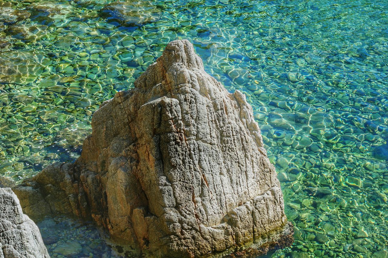 Sea Water Nature Beauty In Nature Rocks Rock And Sea Turquoise No People