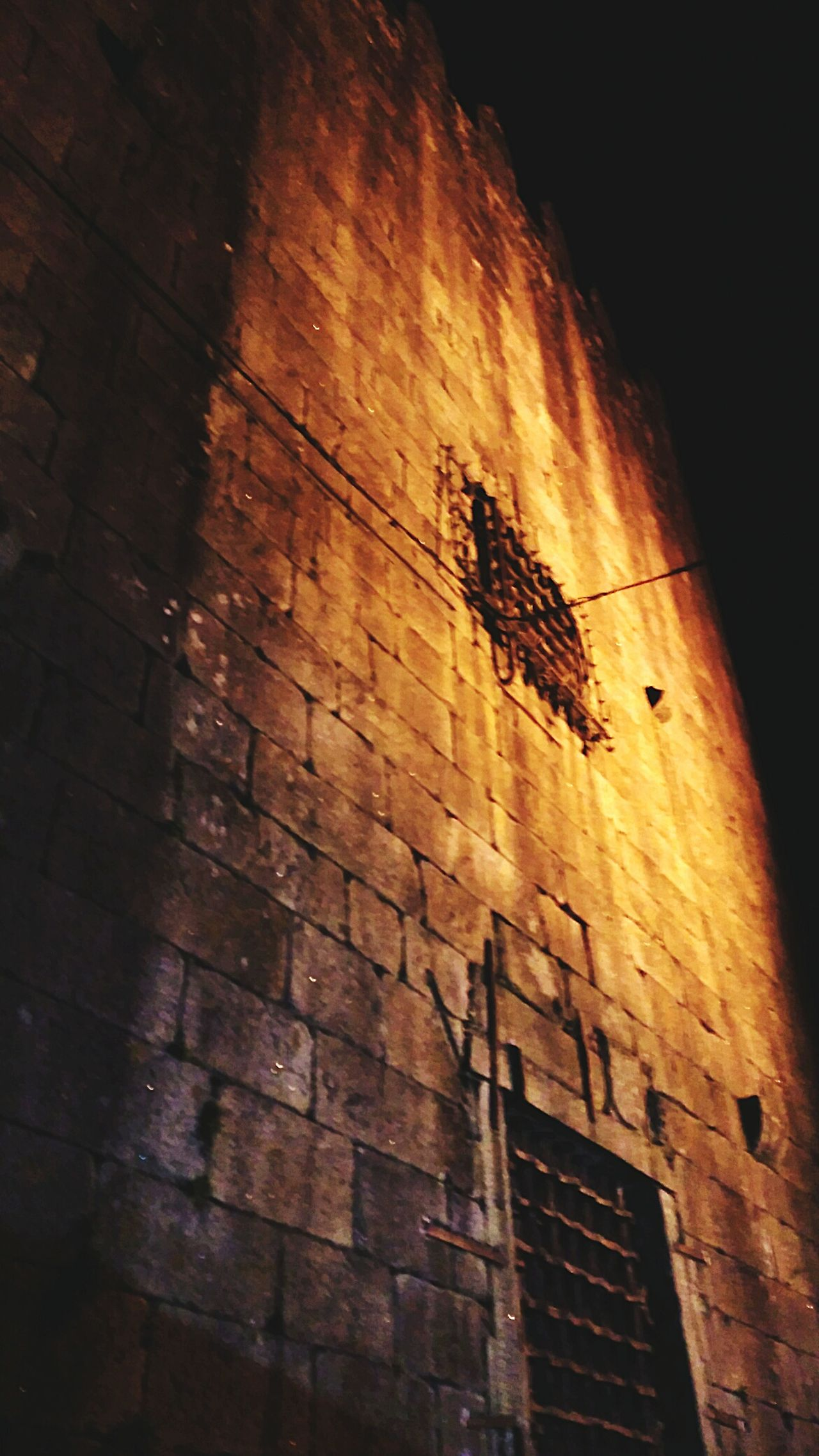 Old Buildings Old Prison Old Woman Prison Portuguese Architecture Old Architecture Ghost Prison Check This Out Night Street Photography Night Walk Night View Ponte De Lima