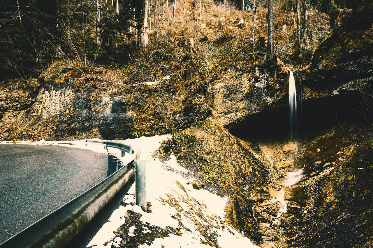 Austria EyeEm Nature Lover Eyeemphoto Forest Nature_collection One Person Outdoor Photography Outdoors Snow Trees Water Waterfall Winter