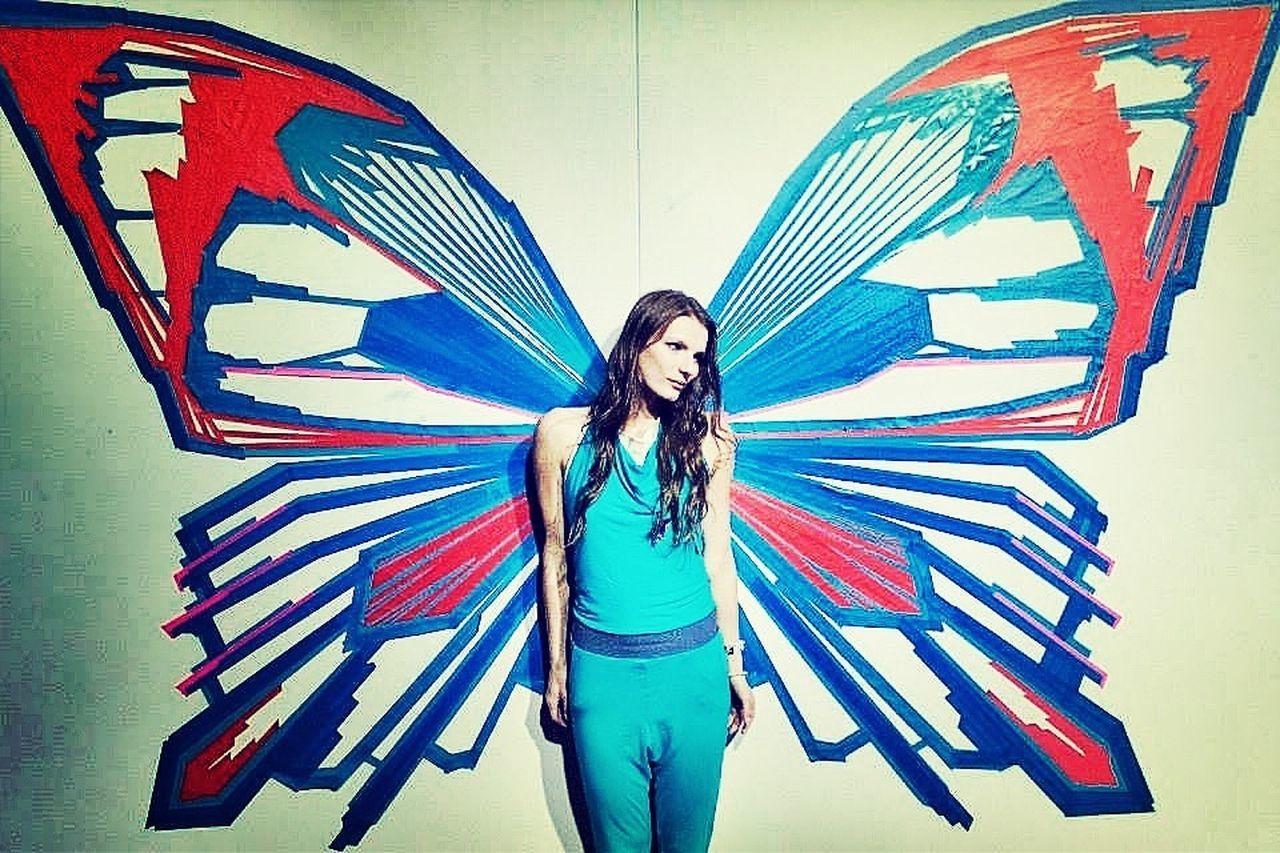 Tape Art Streetart I Love My Job! Visual Statements