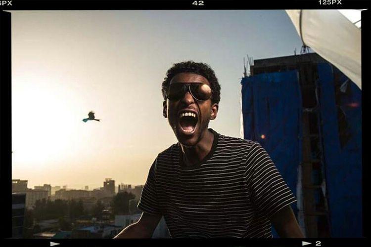 Cityscape Addisababa Rising