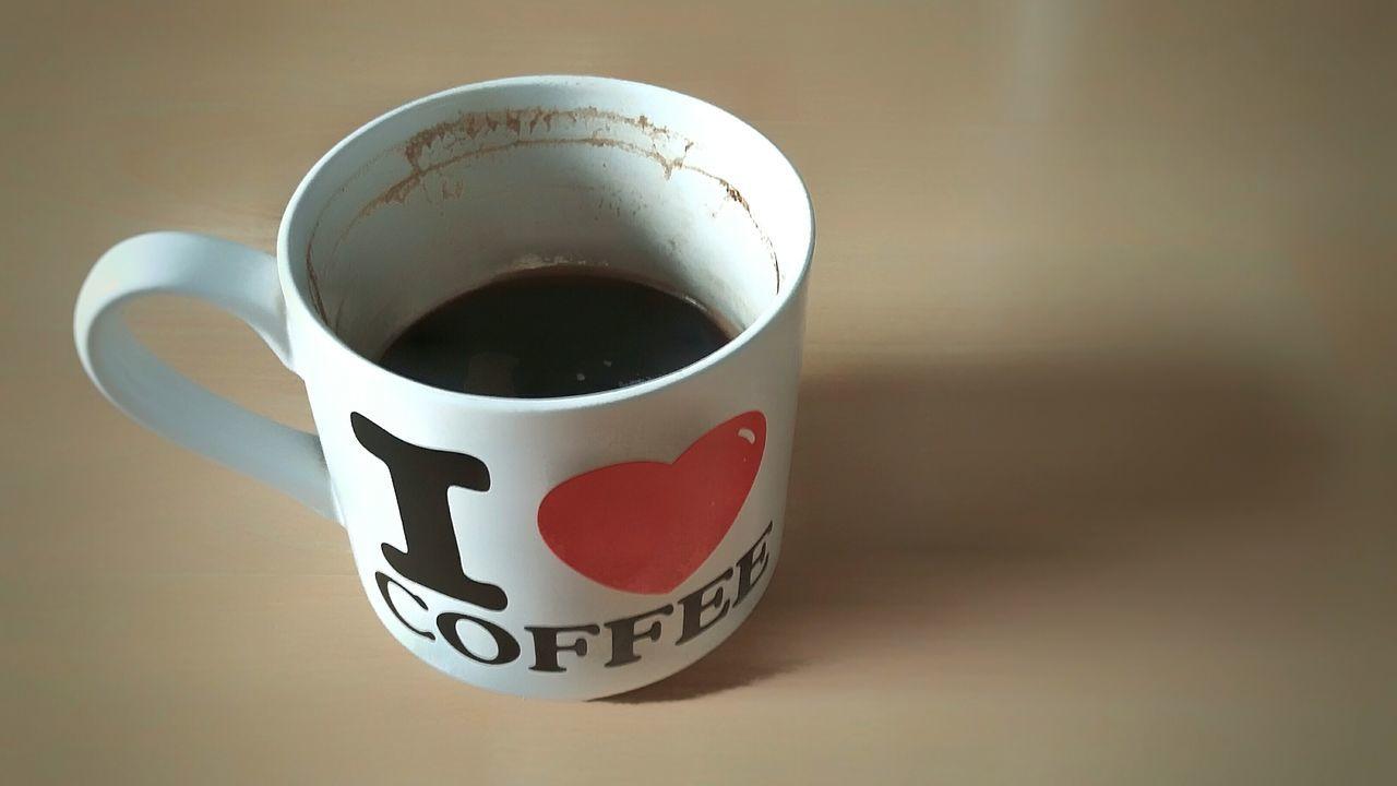 Mug Ilovecoffee Coffee Cup Dirty