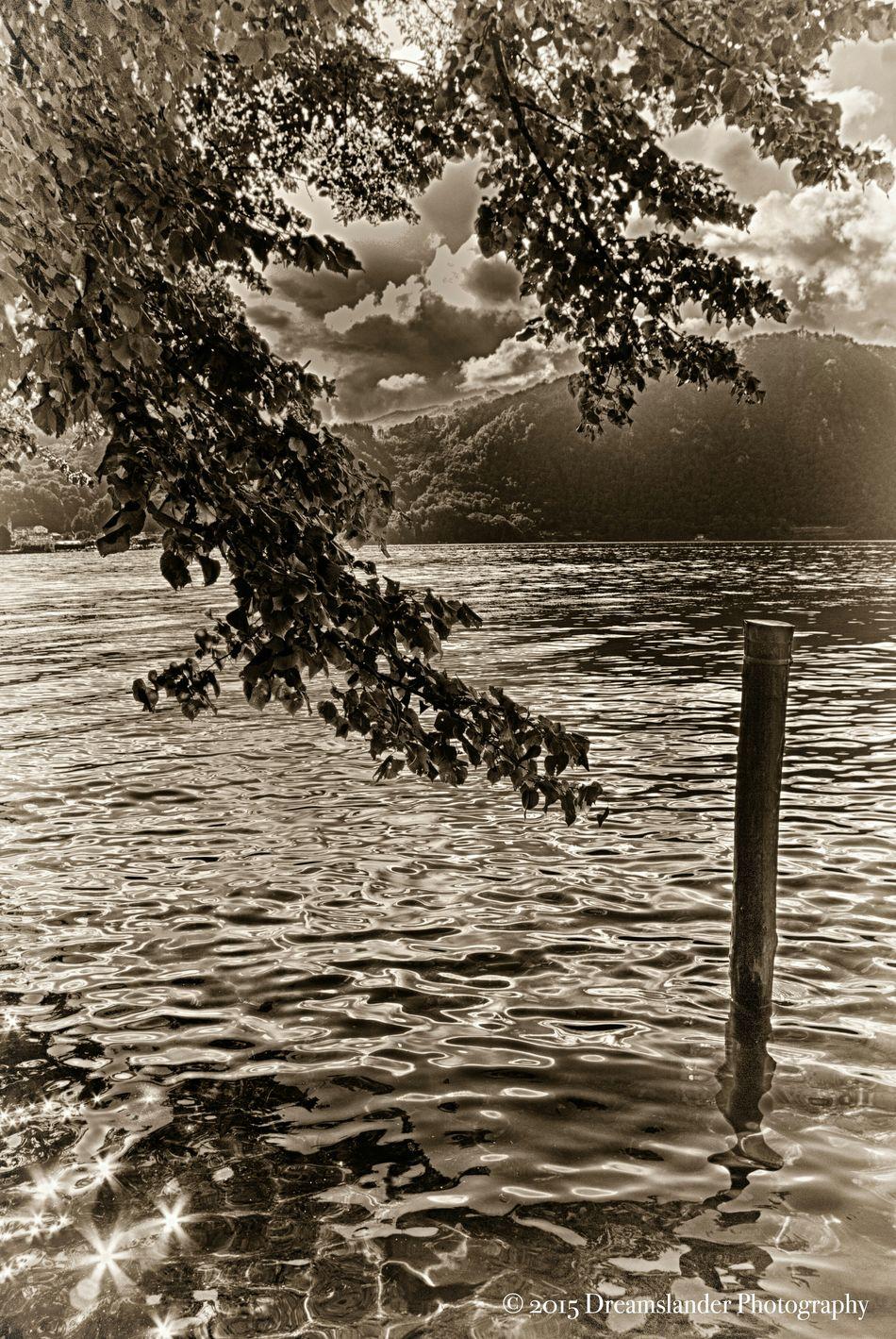 Monochromatic Blackandwhite Photography Black & White Monochrome Malinchonic Landscape Sea And Sky Lake View Light And Shadow