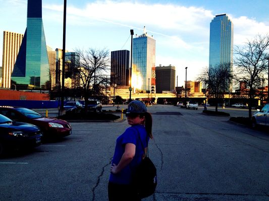 Downtown in Dallas by Brian