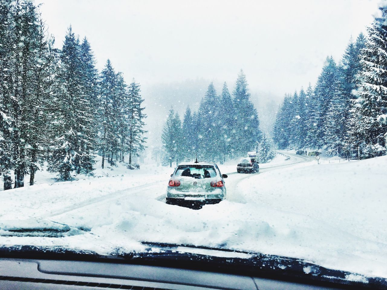 Winter Transilvania Romania Brasov