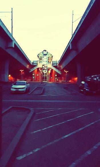 Metro Station Fig Walking Enjoying Life Los Angeles, California