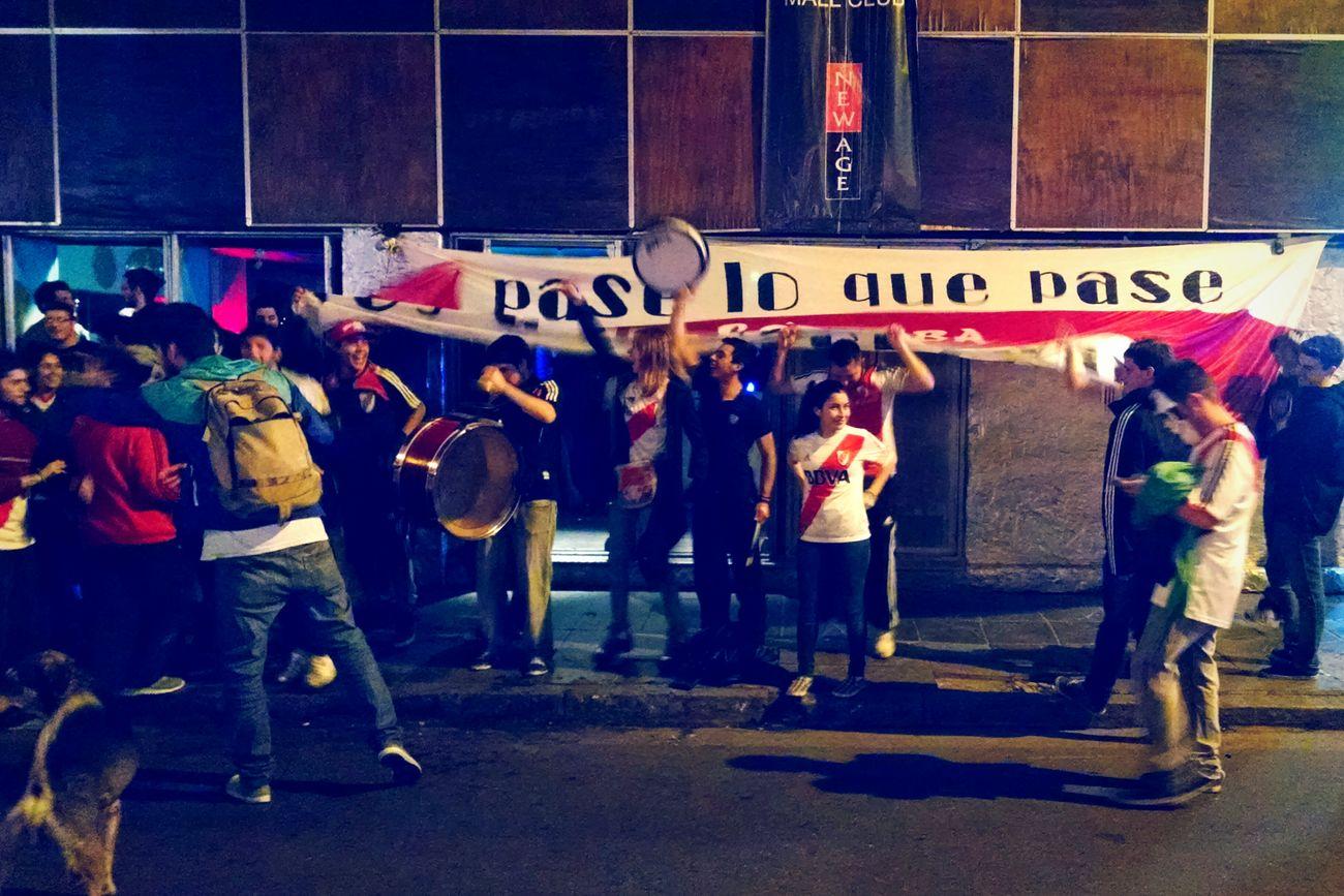 Una locura que no tiene cura. My Smartphone Life River Plate Libertadores Cup Eternal Love Crazy