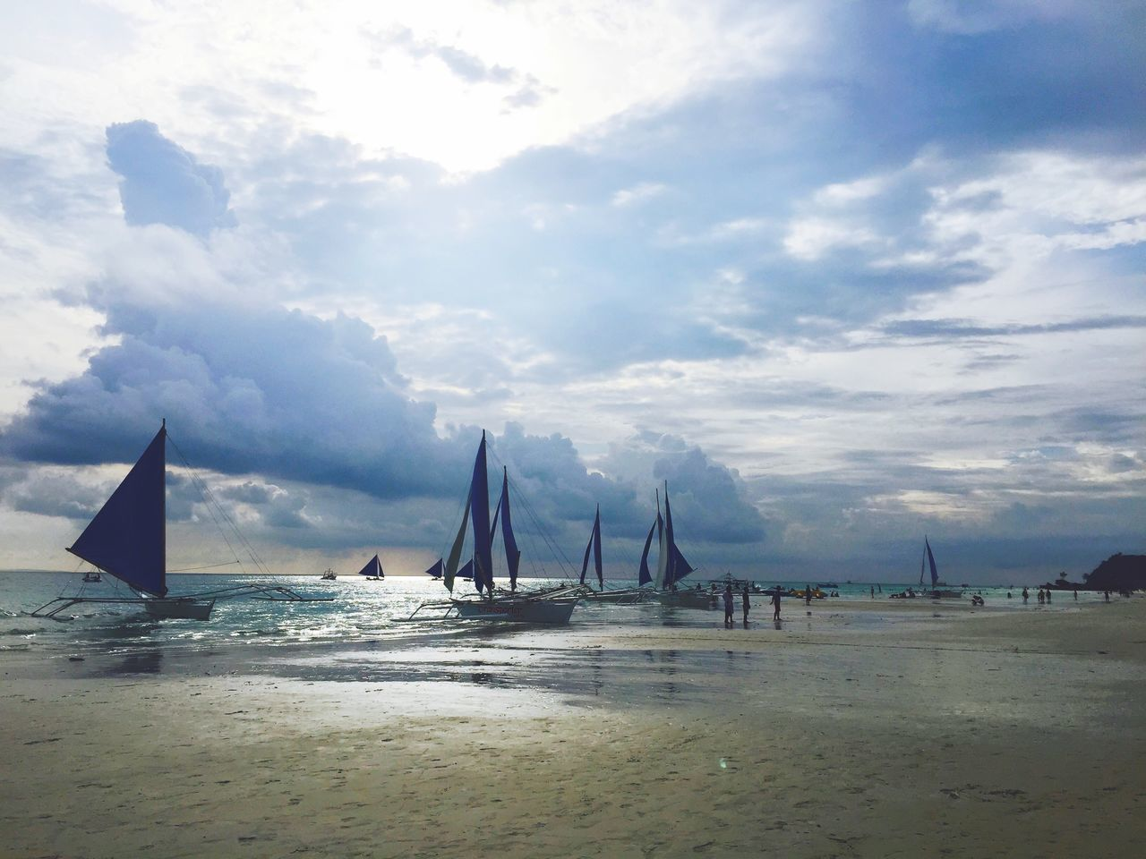 Beautiful stock photos of philippines, Bar, Beach, Cloud - Sky, Cloudy