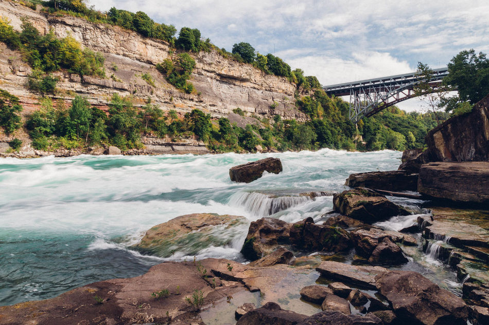 Beautiful stock photos of niagara falls, Architecture, Beauty In Nature, Bridge - Man Made Structure, Built Structure