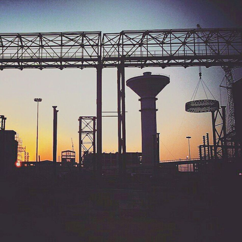 Iron & Vine Sunset Silhouettes Silhouette_collection Eyeem Silhouette Mechanical Engineering Engineering Silhouettes