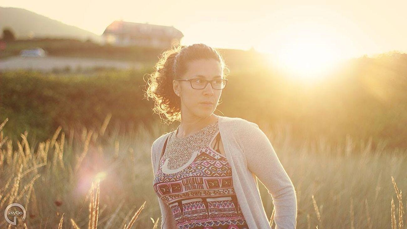 Girl Sunset Portrait Love