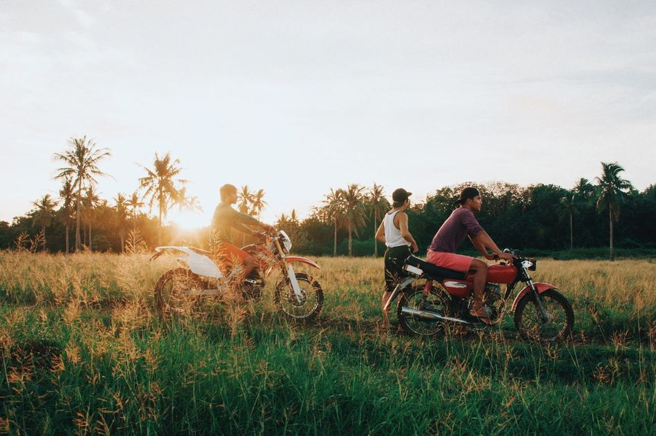 Beautiful stock photos of fahrrad, two people, bicycle, transportation, full length