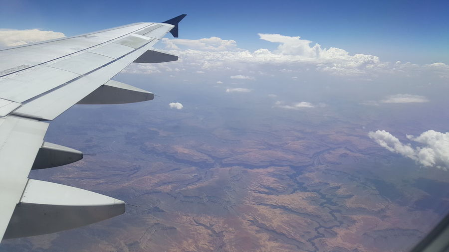Flying In The Sky AirPlane ✈ Flying Home Flying High. Airplanephoto Airplane View Airplane Window View Airplane Wing Done That.