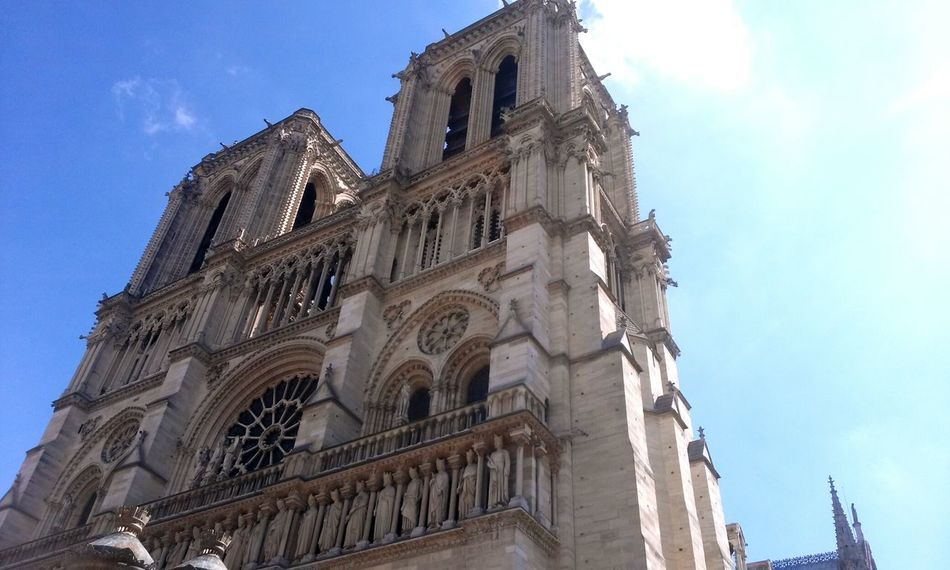 Beautiful stock photos of notre dame,  Building Exterior,  Built Structure,  Cathedraé,  Day