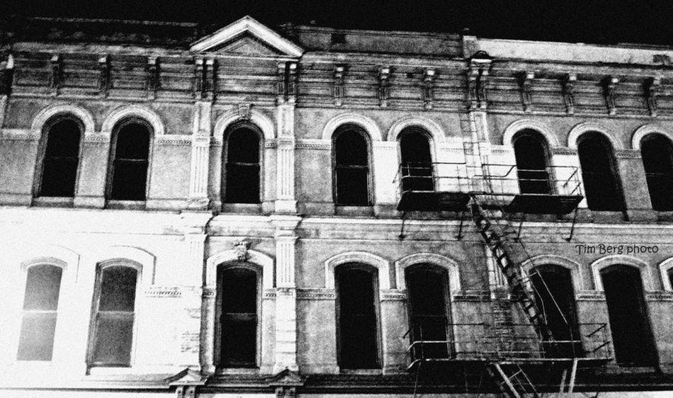 Creepy old building in downtown Portland, Oregon. Urban Exploration Creepy Abandoned Places Creepy Building