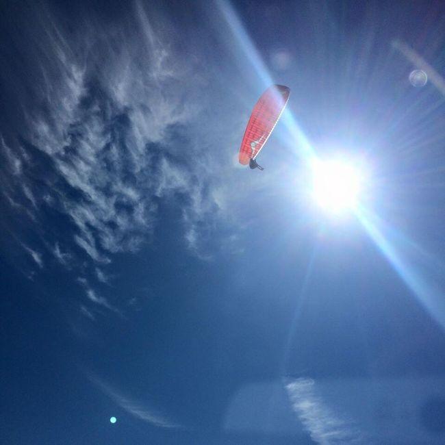 Parachuting Parachuting Parachutist Sky And Clouds First Eyeem Photo