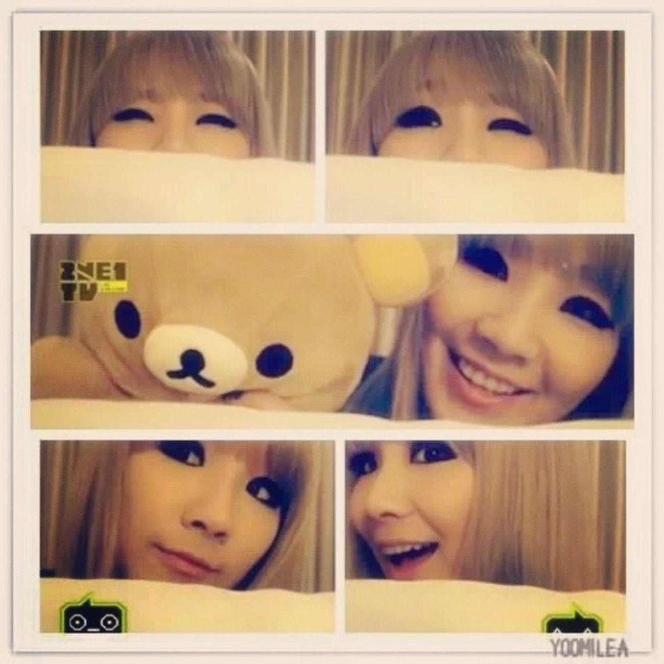 CL 재미 .. eonnie 재미 나는 eonnie 사랑 .. 나는 당신을 사랑합니다 .. CL 2NE1 Kyeopta .. :* @chaelin_cl
