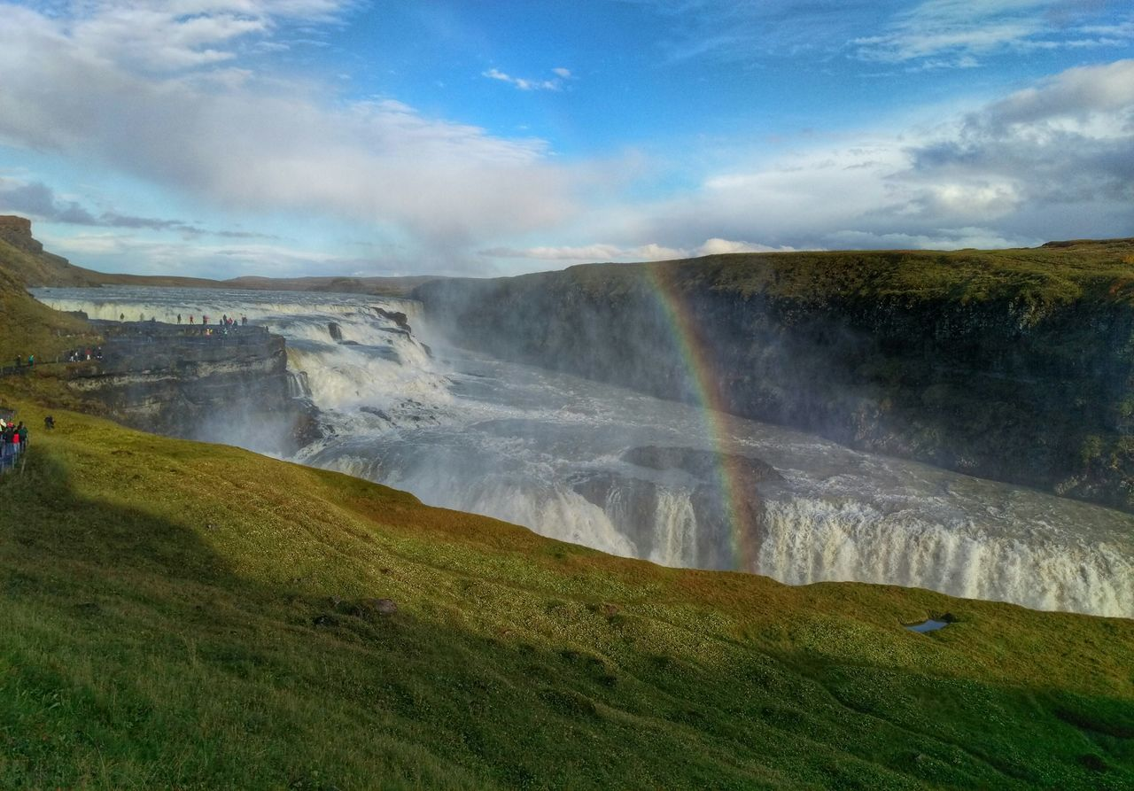 Beautiful stock photos of regenbogen, Beauty In Nature, Day, Famous Place, Flowing Water