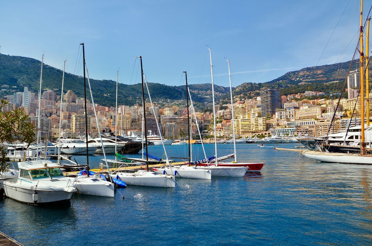 Beautiful stock photos of monaco, Architecture, Boat, Building Exterior, Built Structure