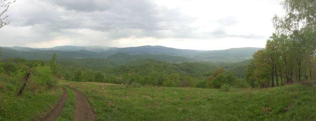 Ukraine Karpaty Karpathian Montains    Green Road