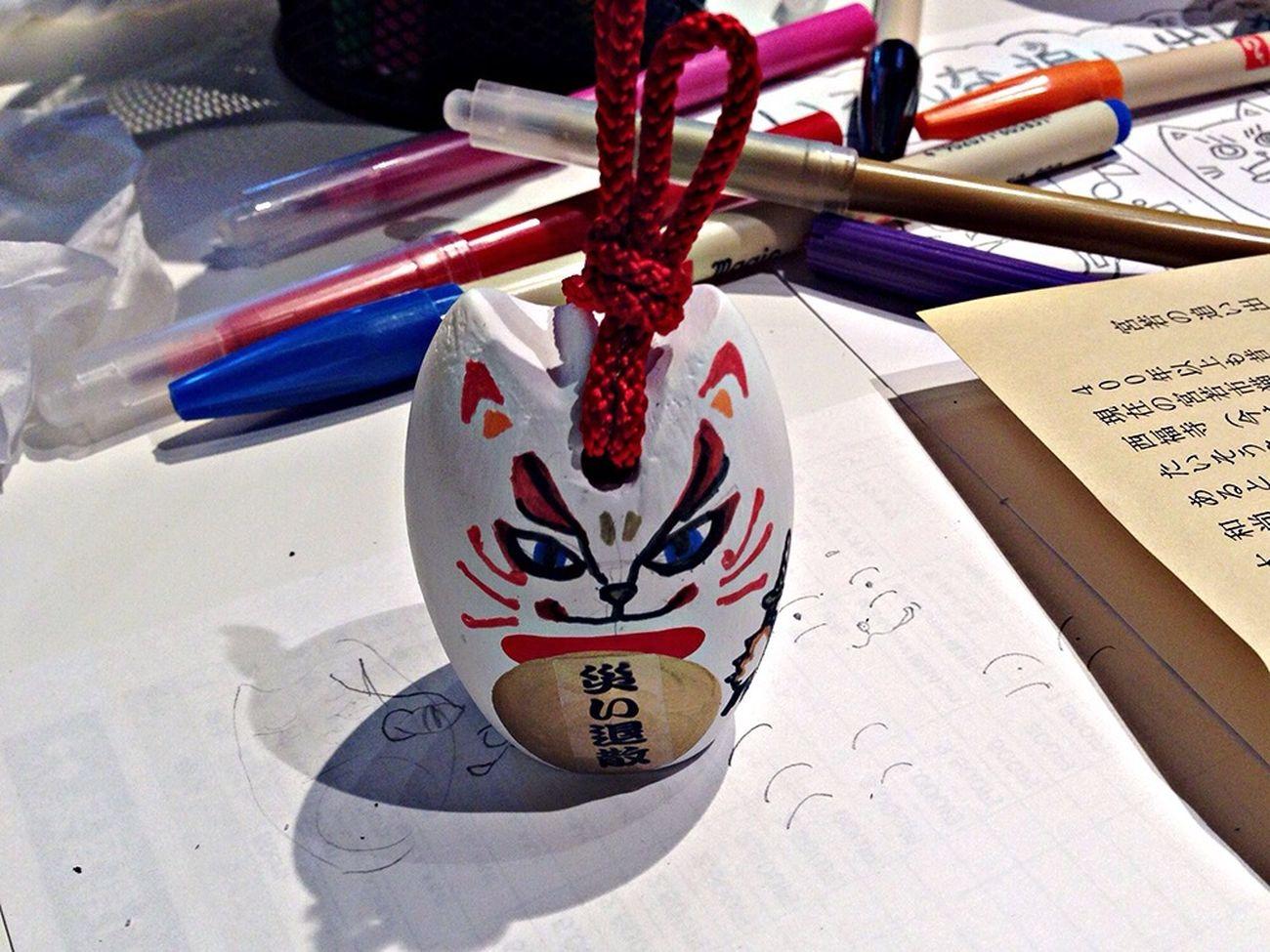 手作り猫。。顔は僕が描きました。^^ I painting a cat face. Cat Cat♡ ♡ Cat