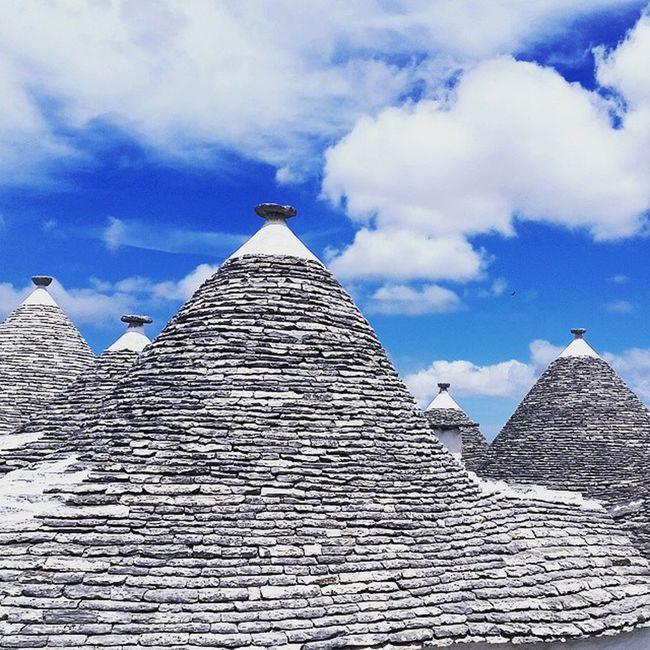 Bari Trulli Italy Aida Zipfelmüsenhäusle Vollgeiley Ichwillauchsondach Korfu Dubrovnik Coratia Blue Sky Geile Dächle Loiftbeidenen