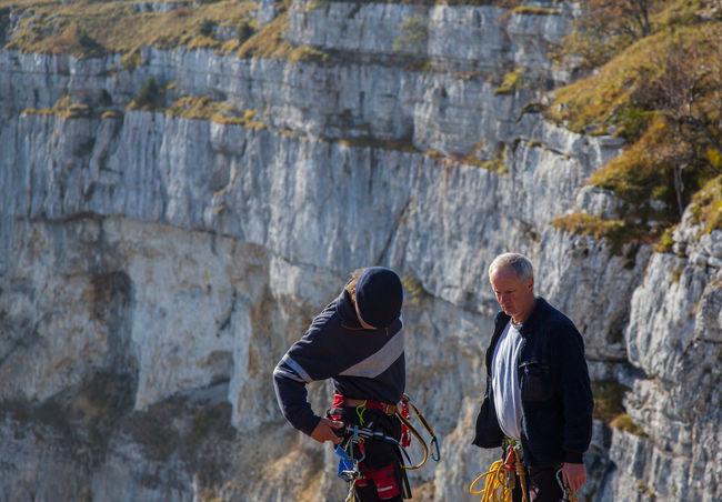 Hiking at Creux du Van, Neuchatel, Switzerland Cirque Cliff Creux Du Van Exercise Formation Hi Hiking Jura Landscape Natural Nature Outdoors People Rock Formation Scenic Swiss Switzerland Taking Photos Tranquility