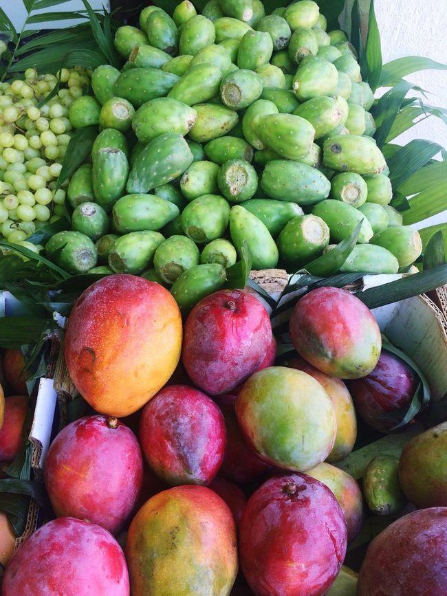 Mango Mangoes Cactus Fruit Exotic Fruit Exotic Fruits Fruitstore Colorful Colourful Fruits