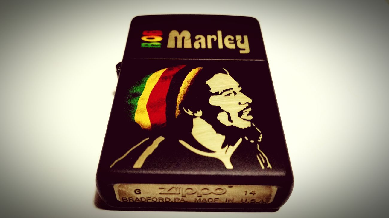 Bob Marley in Zippo | Yiyo Beat First Eyeem Photo